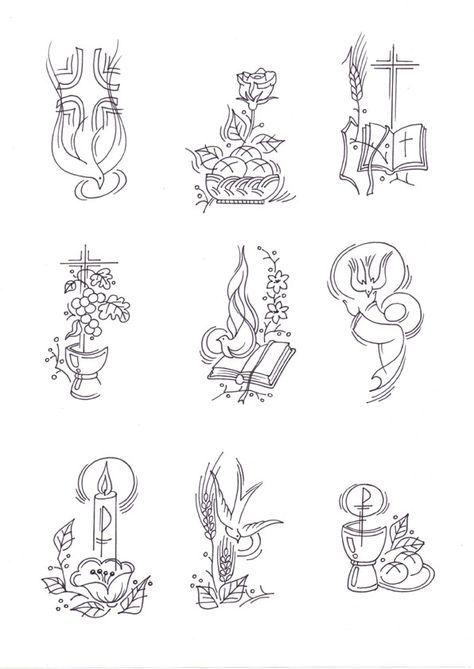 Pin De Margarita Soto Em Papeleria Varios Simbolos Cristaos