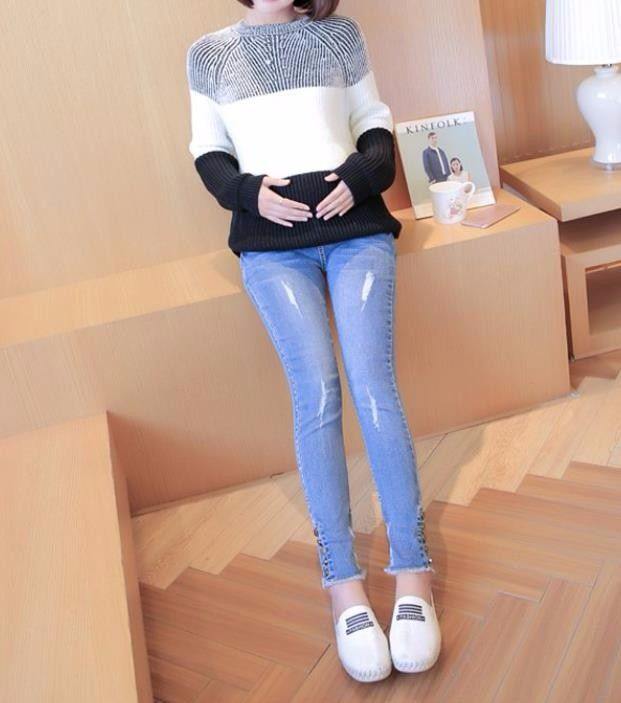 12bb040ef30ab Ja6009 Pregent Women Jeans Wholesale China Maternity Skinny Pants Maternity  Trousers Stocks - Buy Jeans Wholesale China,Maternity Clothing,Maternity  Blue ...