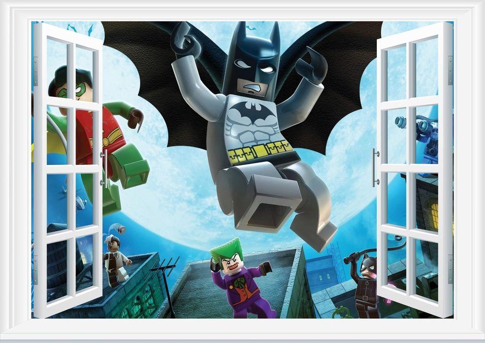 Best Lego Batman Bedroom Stickers Google Search Alexander S 400 x 300