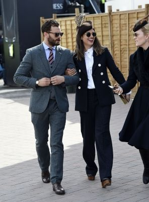 Jamie and Millie attend Cheltenham 2018: Gold Cup Day , UK (March 16)