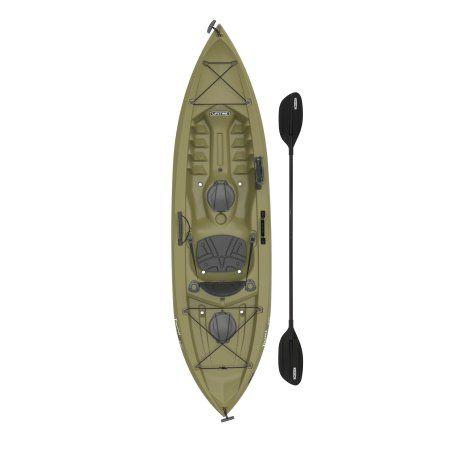 Lifetime Tamarack 10 Angler Kayak Olive Green 90818 Easyhomedecor Kayak Fishing Kayaking Kayak Paddle