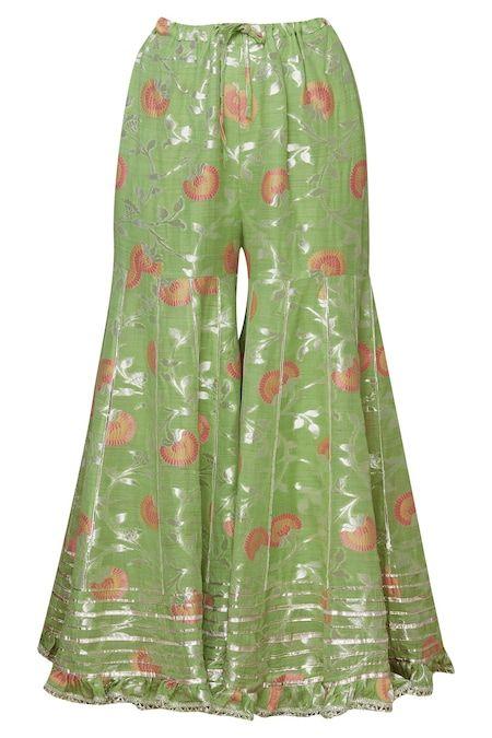 Buy Embellished Kurta Sharara Set by Gopi Vaid at Aza Fashions