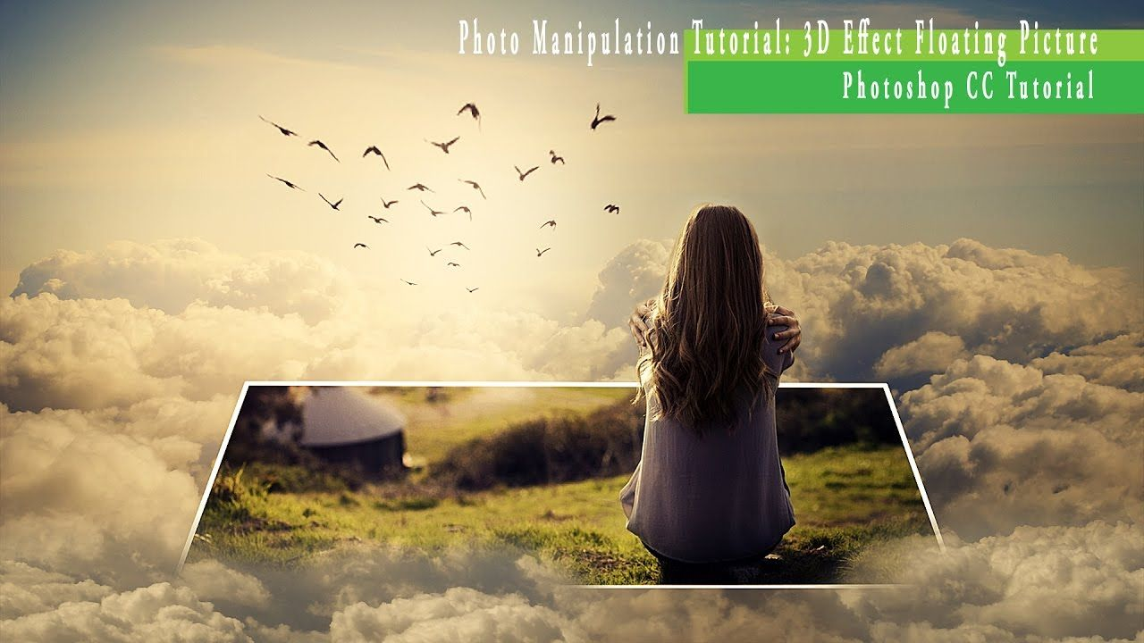 Photo manipulation tutorial 3d effect floating picture photo manipulation tutorial 3d effect floating picture photoshop cc baditri Image collections