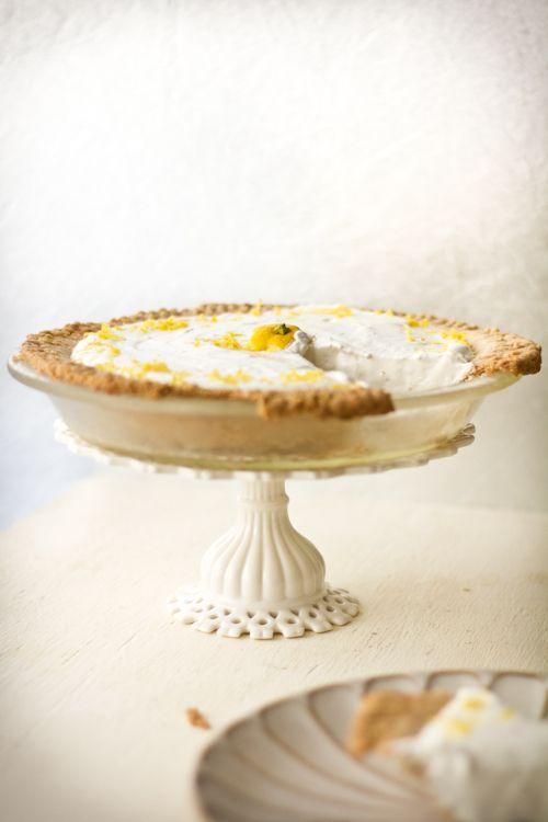 Ginger Lemon Cheesecake