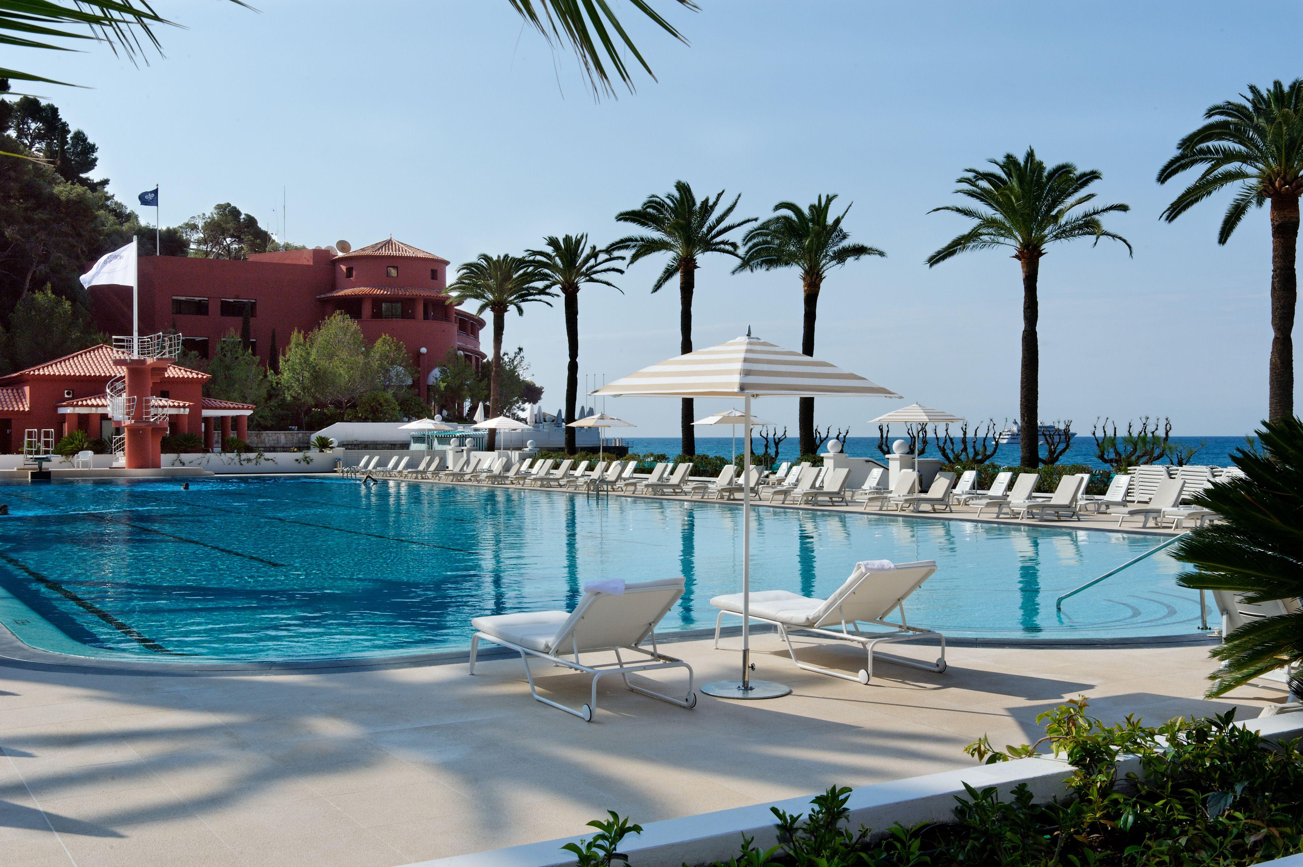 Monte Carlo Beach Club Beach Hotels Monte Carlo Pool