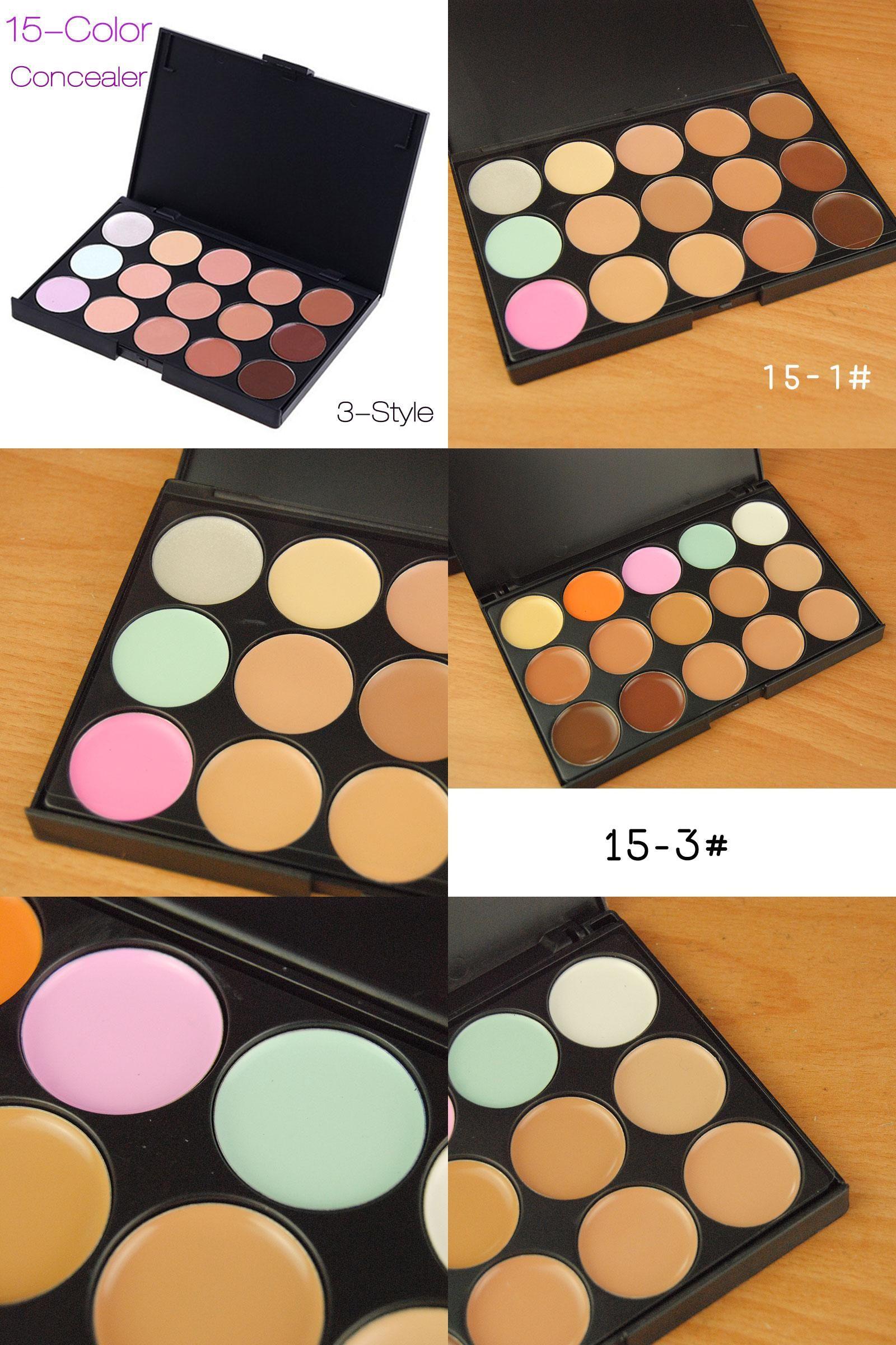 [Visit to Buy] New Makeup Concealer Palette 15 Color