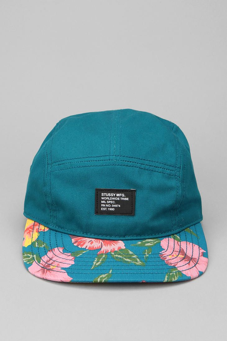 90e96513014b6 Stussy Hawaii 5-Panel Hat  UrbanOutfitters