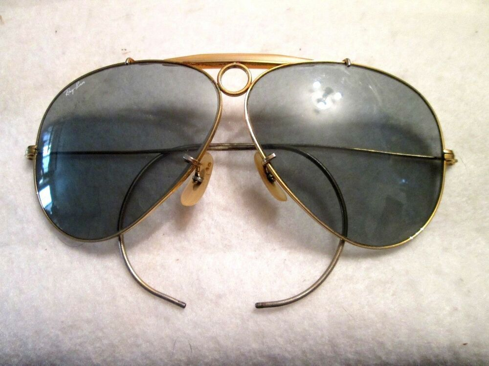 PILOT GLASSES WITH BLACK LENS AND GOLD FRAME FANCY DRESS AVIATOR ACCESSORY