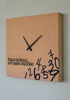 Своими руками оригинальные настенные часы в 88