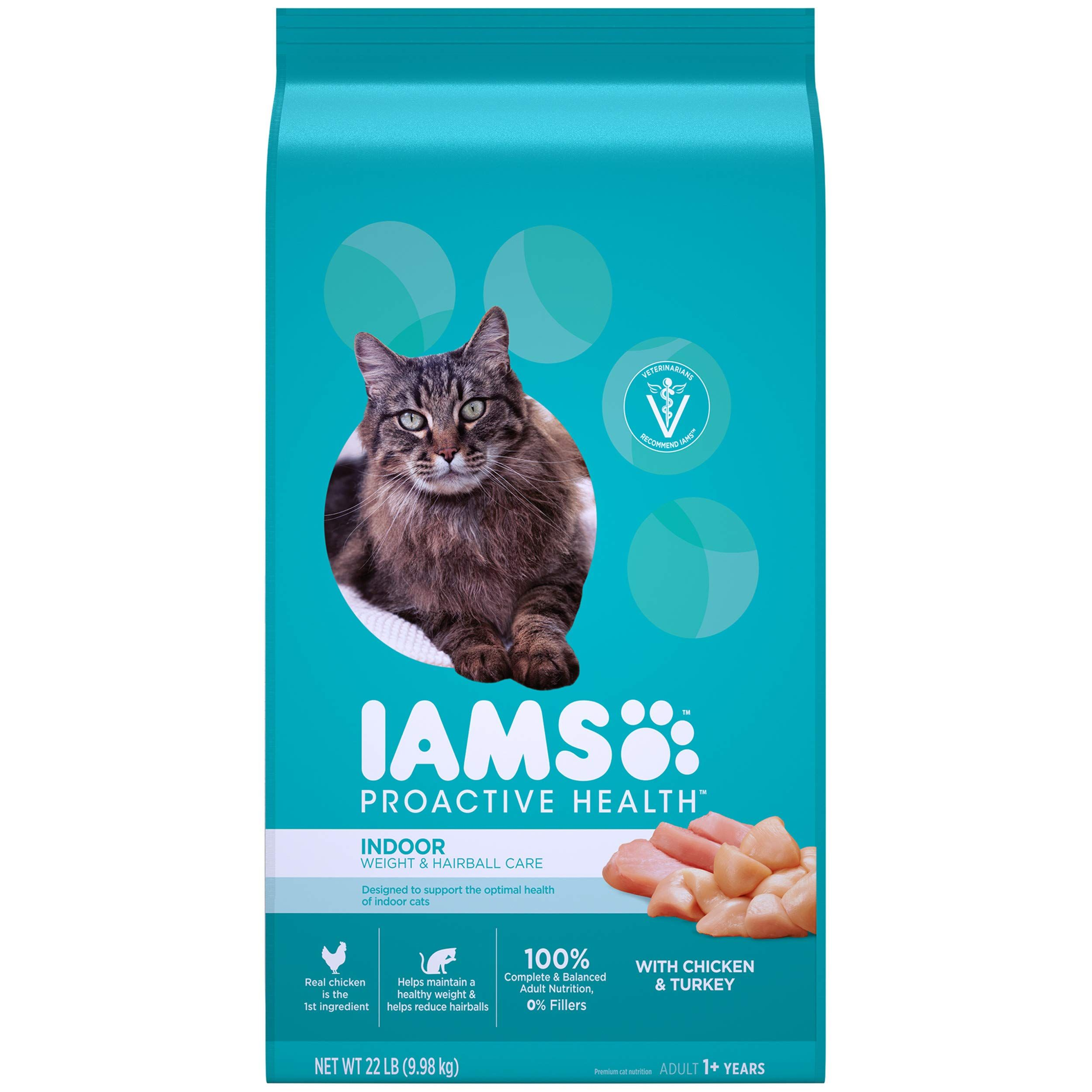 Iams Proactive Health Adult Indoor Weight And Hairball Control Dry Cat Food More Info Could Be Found At The Image Url In 2020 Dry Cat Food Indoor Cat Indoor Cat Food