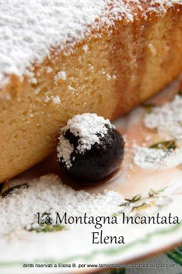 La Montagna Incantata: Torta con farina di kamut, yogurt e amarene sciroppate