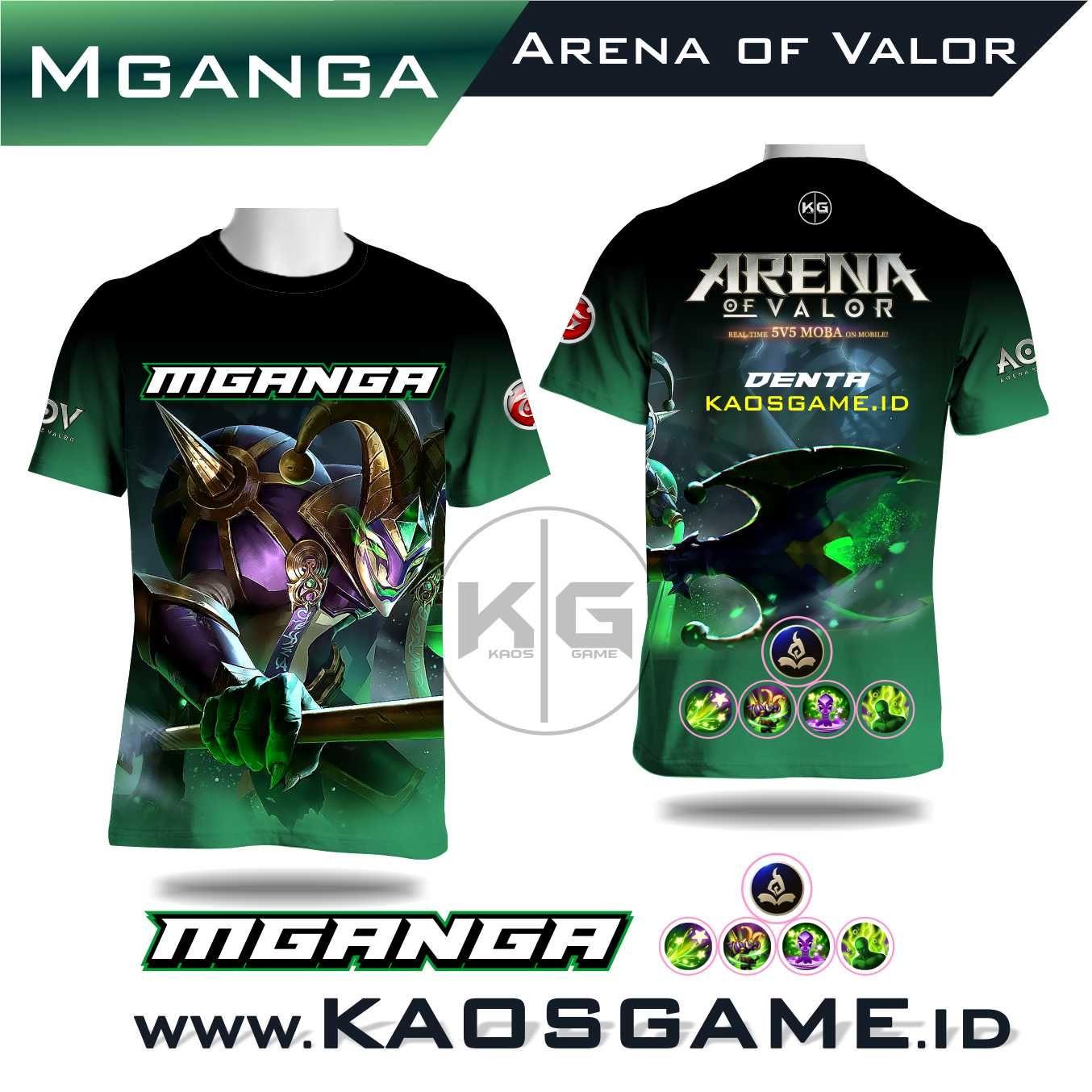 Kaos Kaos Mganga Skin Original Arena Of Valor Aov Sablon Full Print