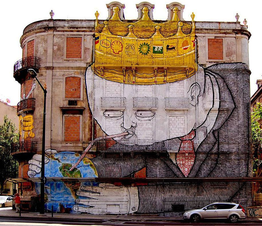 25 Powerful Street Art Pieces That Tell the Painful Truth