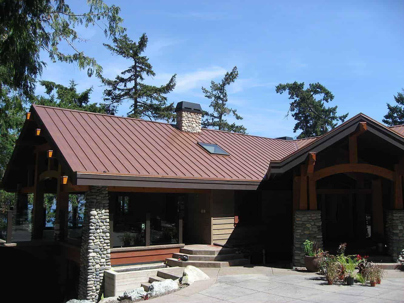 Standing Seam Interlock Metal Roofing Standing Seam Standing Seam Metal Roof Metal Roof