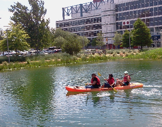Photo of Discovery Green: Kids' Kayak Camp August 5, $5