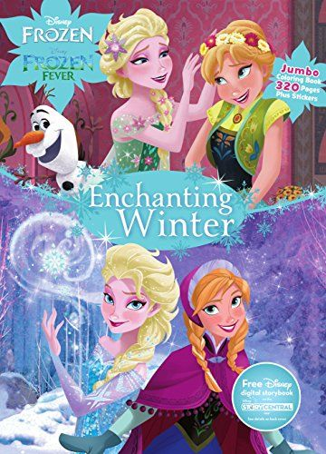 Disney Frozen Enchanting Winter Jumbo Coloring Book Want Additional Info Click On The Image Fever Book Disney Frozen Coloring Books