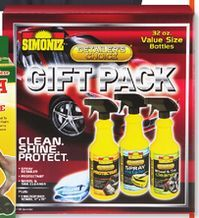Simoniz Car Detailing Gift Pk. from Big Lots $10.00>