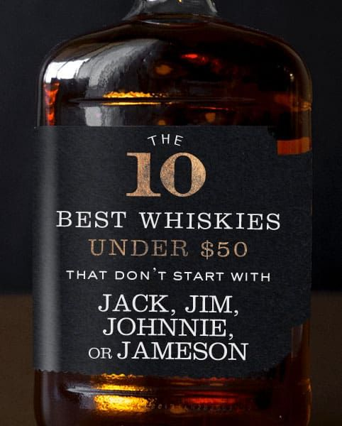 Photo of The 10 Best Whiskies Under $50 That Don't Start With Jack, Jim, Johnnie, or Jameson