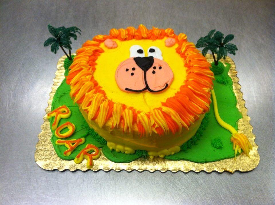 lion cake | Lion cakes, Cake decorating, Cake