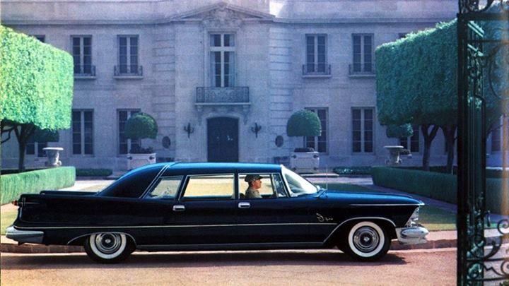 1958 Crown Imperial Limousine Chrysler Limousine Limousine