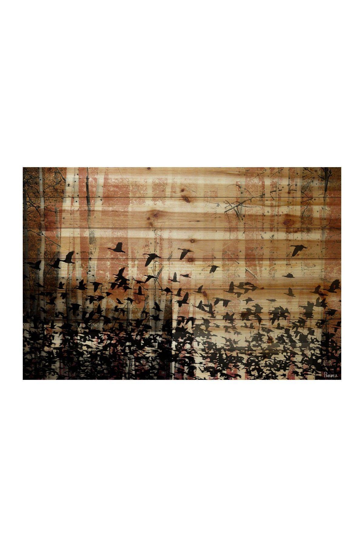 Aspen wood wall art parvez taj rustic decor pinterest wood