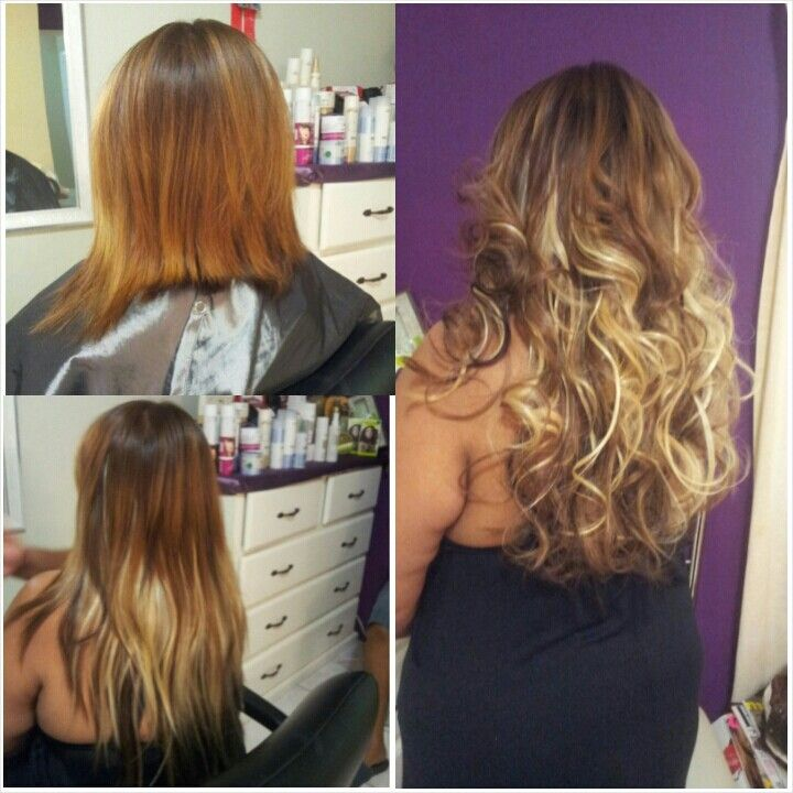 Balmain High Quality Hair Extensions Before After The Daily Fun