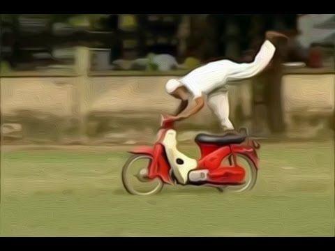 The Best Elderly Motor Bike Stunt Rider In The World Motor Bike