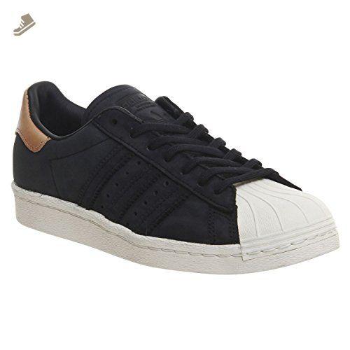 Adidas Womens Superstar 80s Black