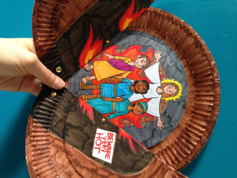 shadrach meshach and abednego craft crafts pinterest