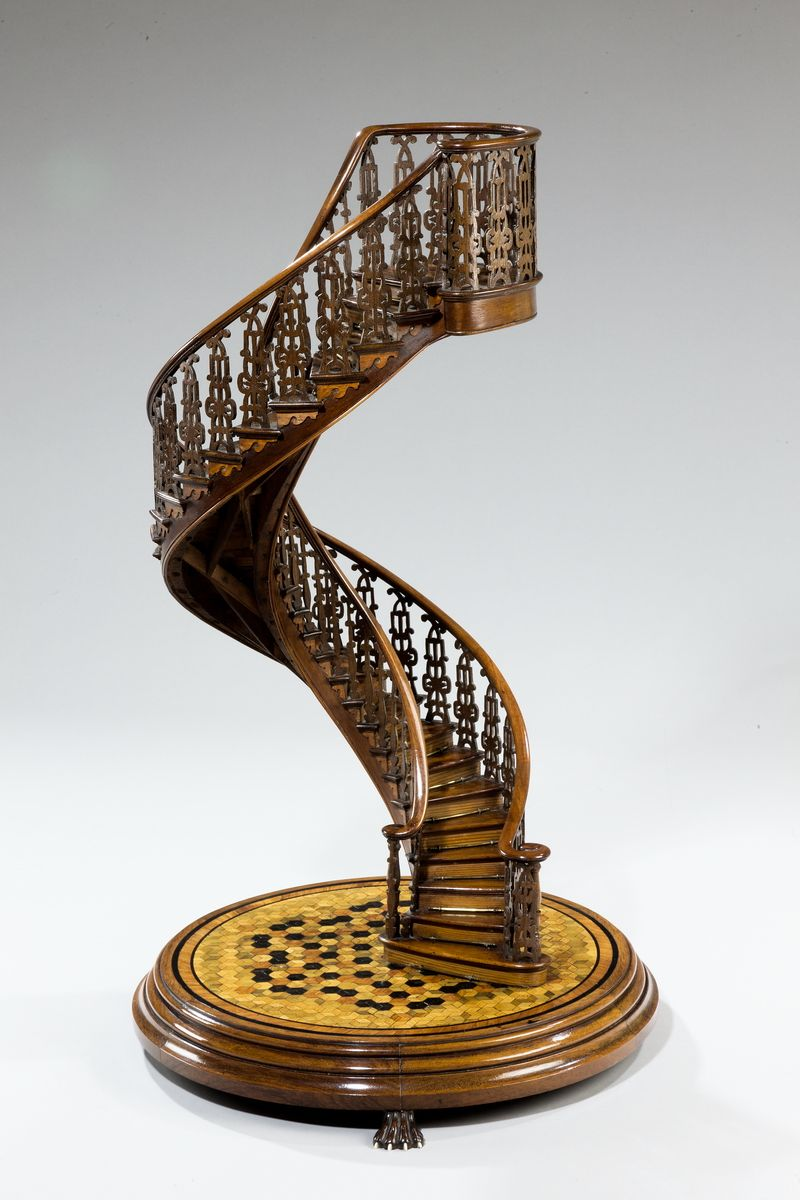 Exhibition Spiral Staircase Model ENGLAND, Circa 1850