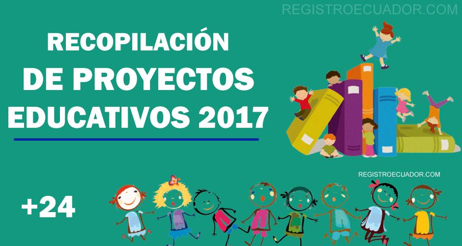 Ejemplos De Proyectos Escolares Educativos 2017