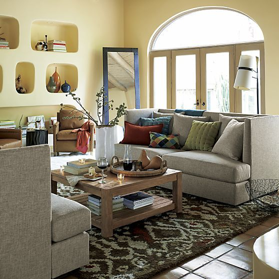 The Shelter Sofa in Sofas | Crate and Barrel