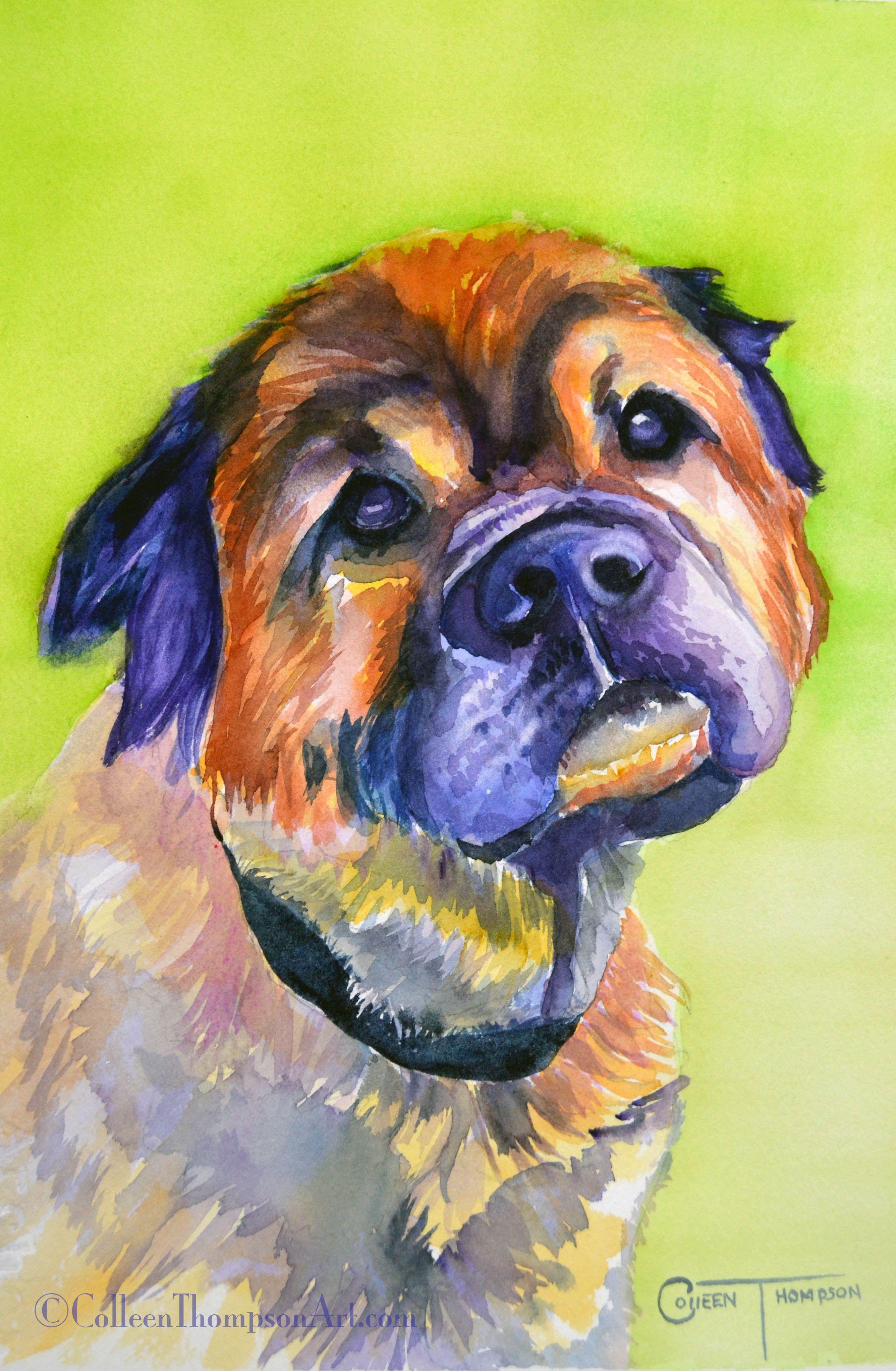 Pet portraits/Acrylic Art Pinterest