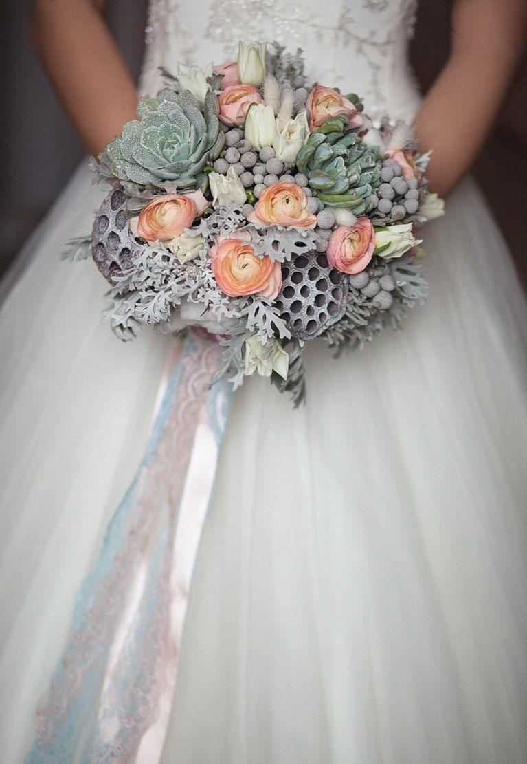 Wedding bouquet florentino wedding bouquet florentino succulent lotus fruit dhlflorist Image collections