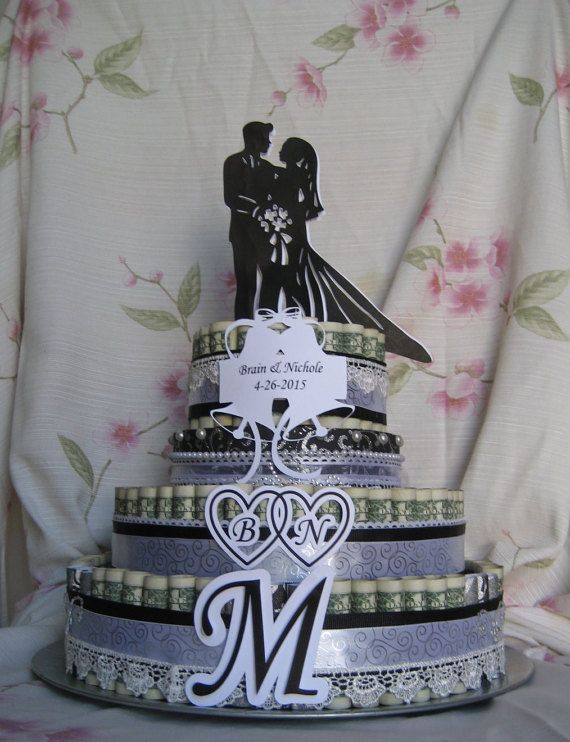Check out MONEY CAKE Large Wedding Day Gift A Fun Unquie Way to