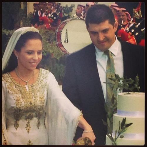 Wedding Of Princess Iman Of Jordan And Zaid Mirza 22 March 2013 Royal Brides Royal Wedding Gowns Royal Weddings