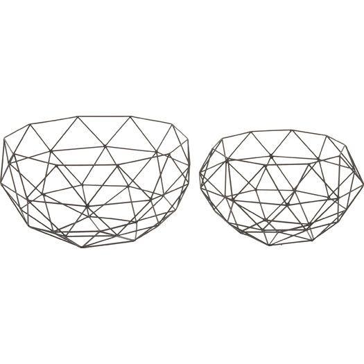 Langley Street 2 Piece Basket Set | AllModern