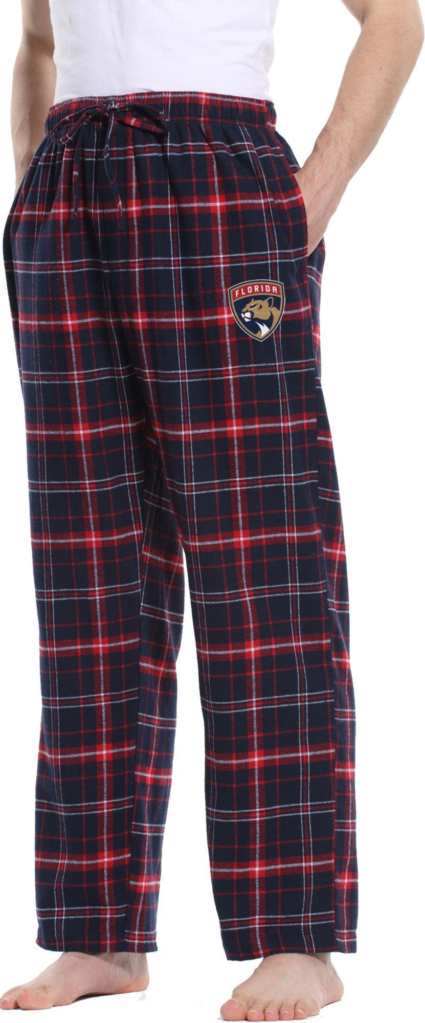 3d7876d81d7 Concepts Sport Men s Florida Panthers Ultimate Flannel Pants ...