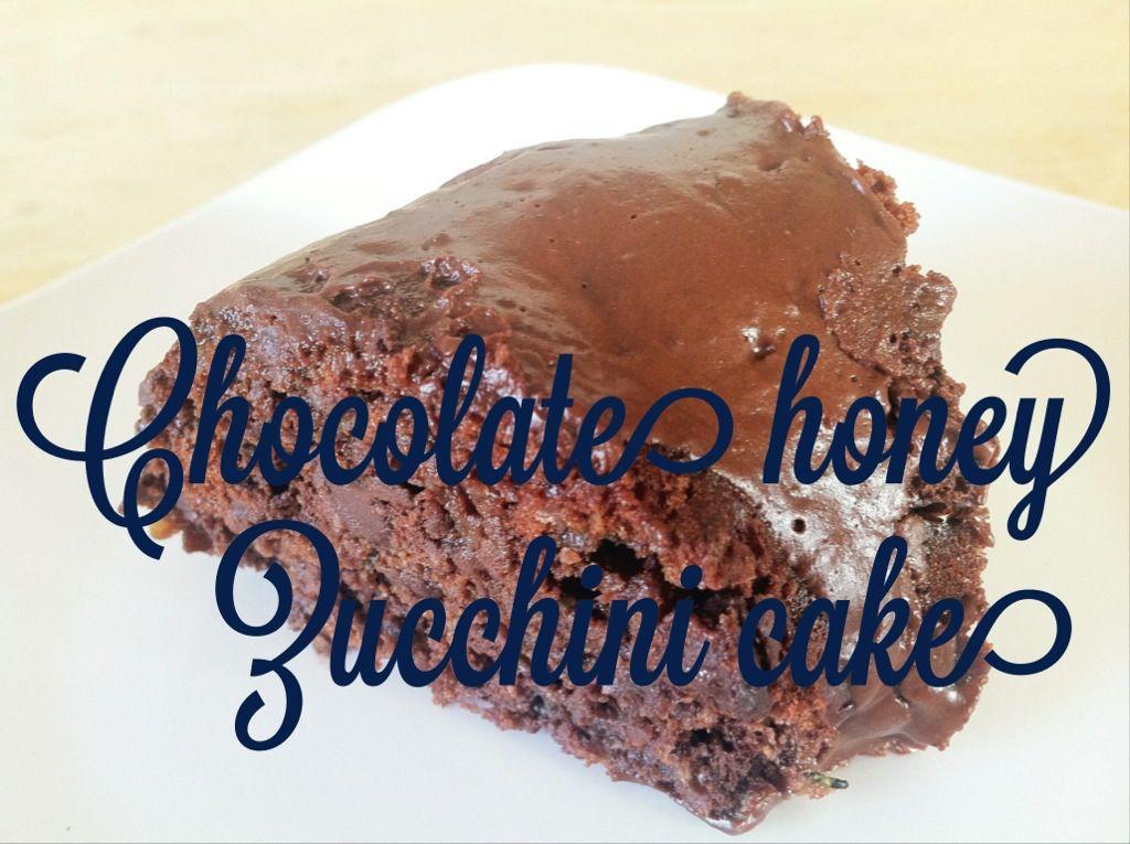 Honey yogurt and chocolate cake recipe