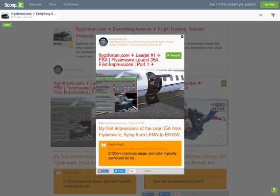 flygcforum com ✈ Learjet #1 ✈ FSX | Flysimware Learjet 35A First