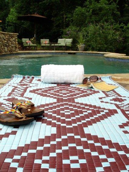 Outdoor Indoor Mat Rug Light Blue Maroon Outdoor Plastic Rug Outdoor Rugs Outdoor Carpet