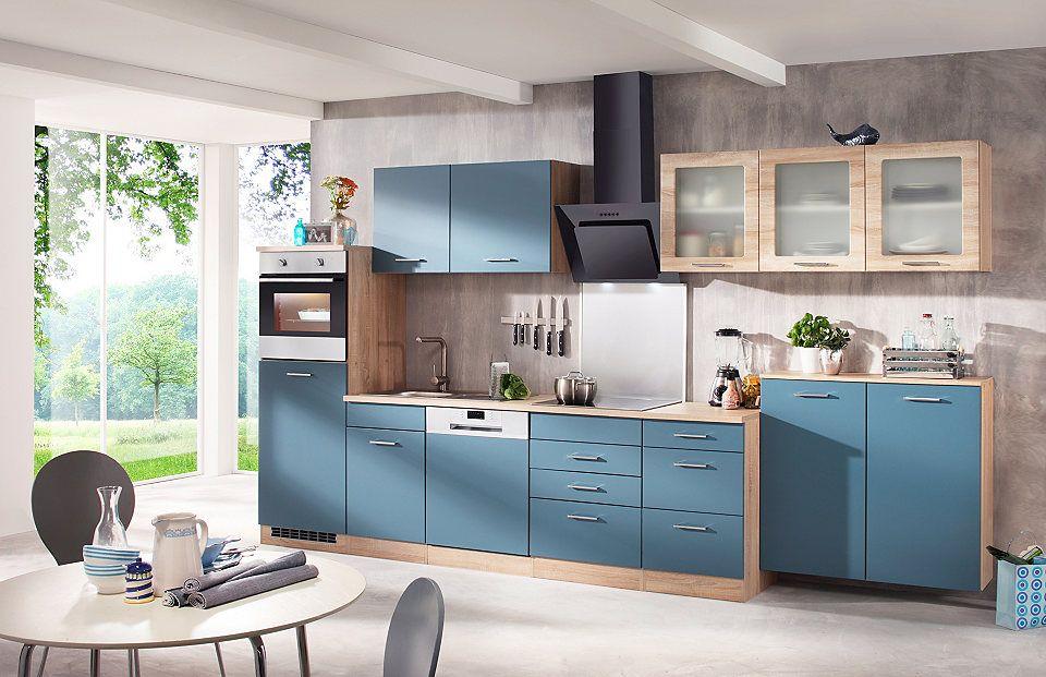HELD MÖBEL Küchenzeile mit E-Geräten »Prato, Breite 380 cm« Jetzt - küchenblock ohne e geräte