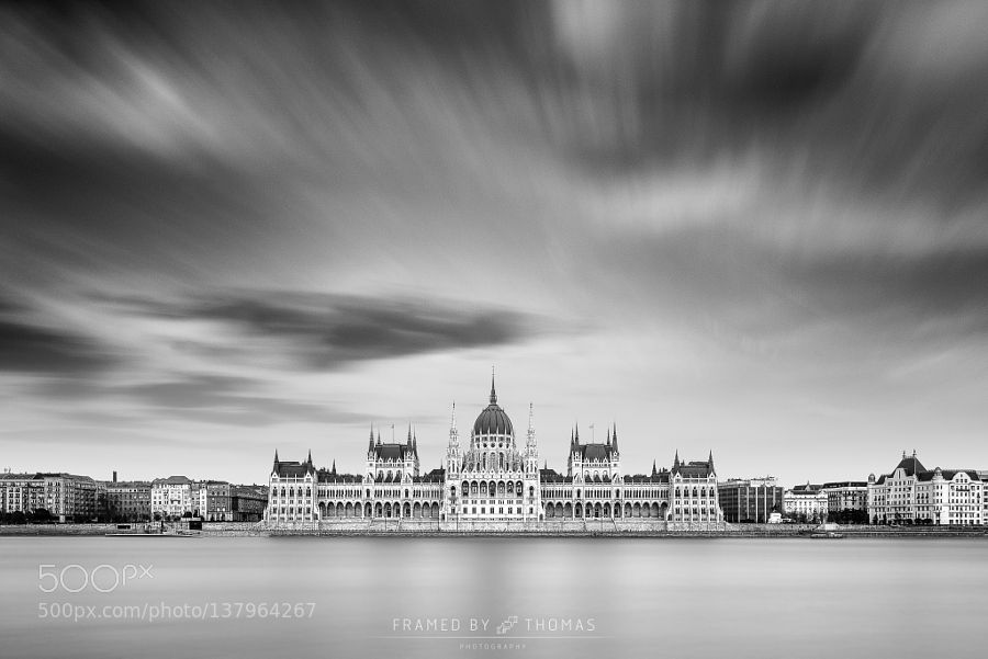 The Hungarian Parliament by thomasmorkeberg. @go4fotos