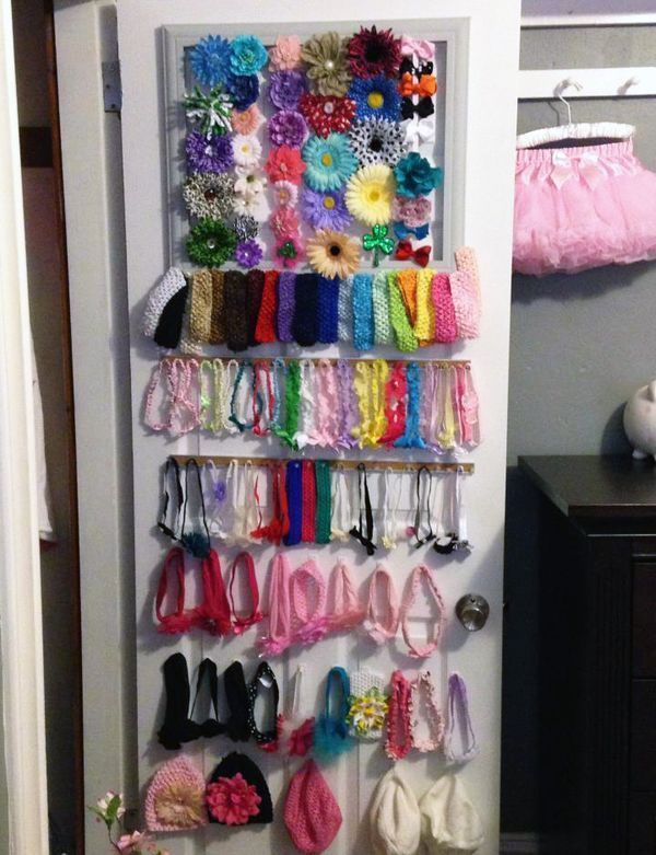 Holy Baby Hair Accessory Organization Project Nursery