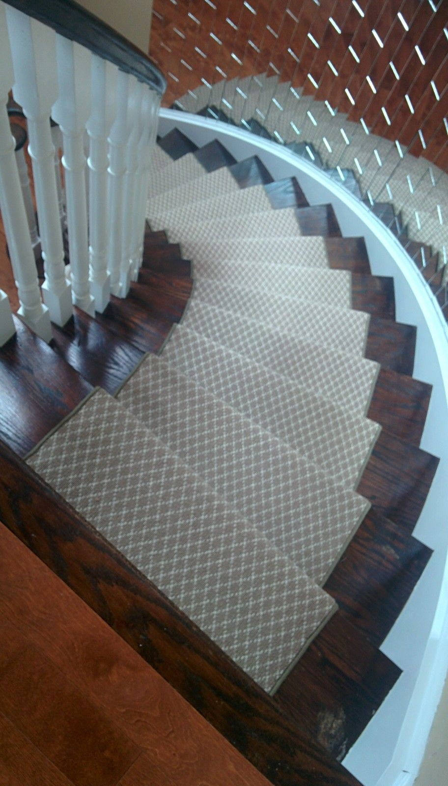 Best Spiral Staircase Runner By Www Stairsfirst Ca With Images 400 x 300