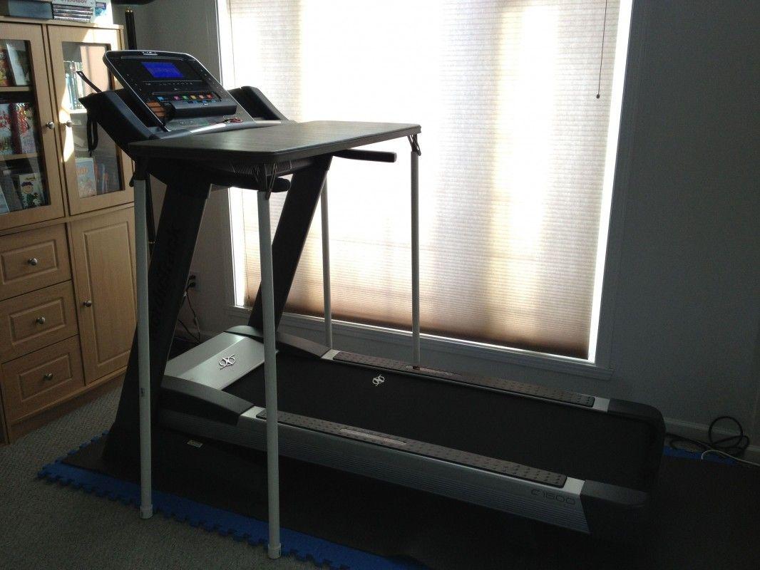 Diy treadmill desk under 50 no tools required step