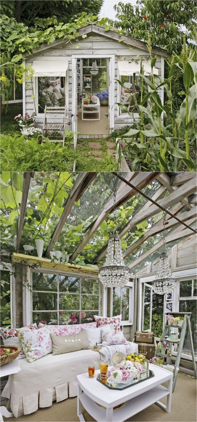 diy garden office plans. Shed Plans - 12 Amazing DIY Sheds And Greenhouses: How To Create Beautiful Backyard Offices Diy Garden Office S
