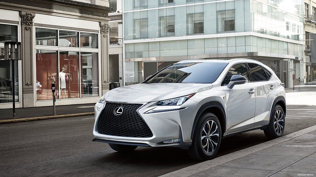 Lexus NX F Sport at Lexus of Seattle Luxury crossovers