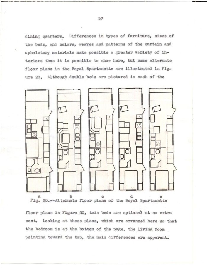 An Analysis Of Trailer Homes Produced In The United States In 1953