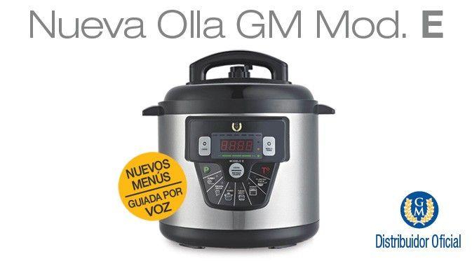 Nueva olla #GM modelo E #hogarium